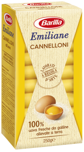 Barilla cannelloni all'uovo   250 gr