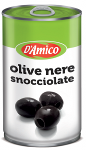 D'amico olive nere snocciolate   4.1 kg