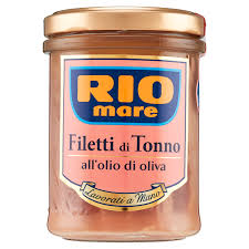 Riomare filetti di tonno all'olio d'oliva   180 gr