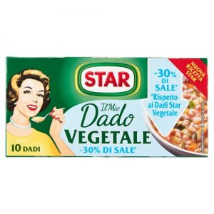Star brodo vegetale -30% di sale x10 100 gr