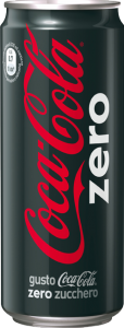 Coca cola zero   lattina 330 ml