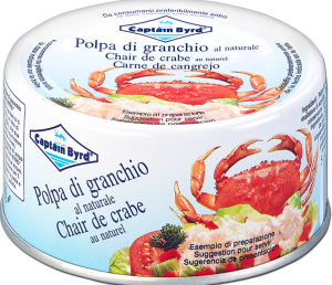 Captain byrd polpa di granchio     200 gr