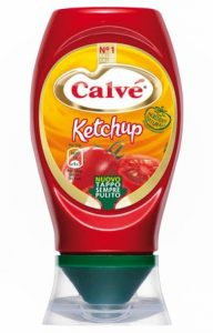 Calve' ketchup dolce top down 250 gr