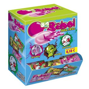 Big babol chewing gum full fill   200 pz