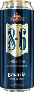 Bavaria birra 8.6 original lattina 500 ml