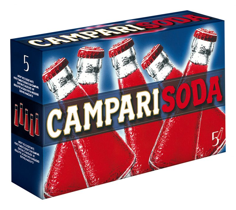 Campari soda     98ml x5