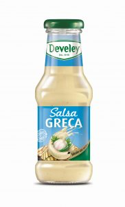 Develey salsa greca     250 ml