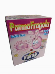 Chicle panna e fragola gum     3 kg