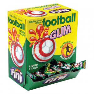 Chicle football gum     200 pz