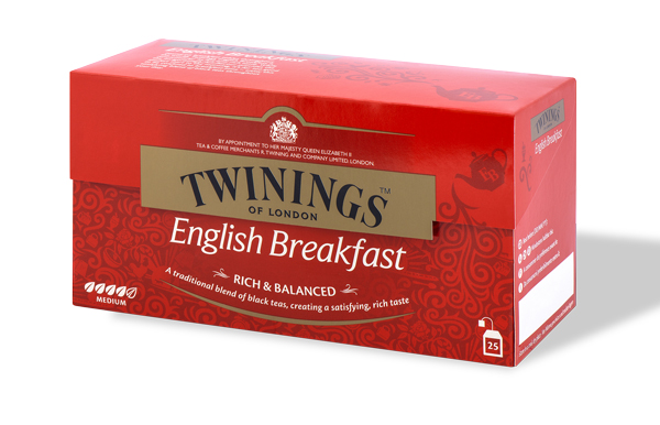 Twinings english breakfast tea   25 filtri 50 gr