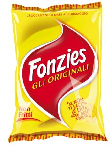 Fonzies snack   sacchetto 100 gr