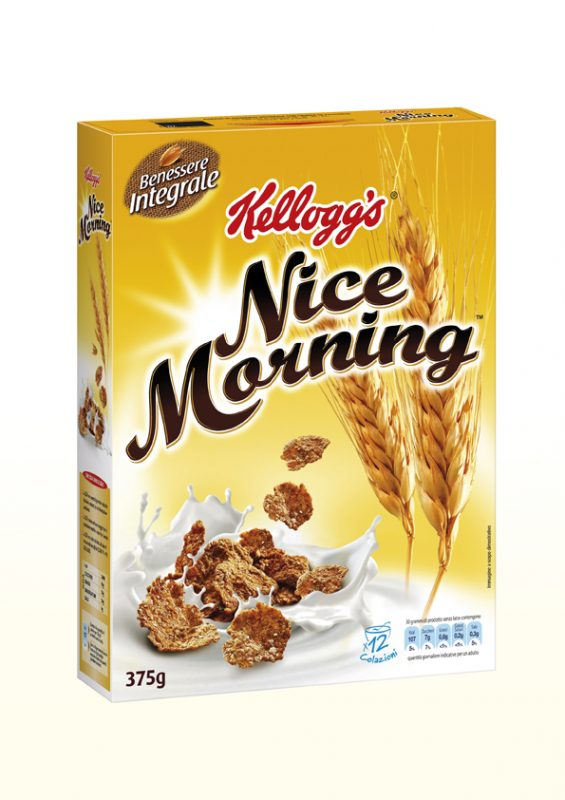 Kellogg's nice morning cereali     375 gr