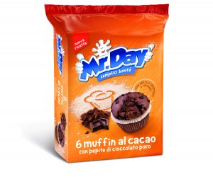 Mr.day muffin cacao x6 252 gr