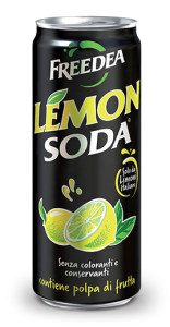 Lemonsoda bevanda al limone lattina 330 ml