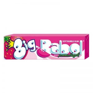 Big babol chewing gum panna fragola   88 gr