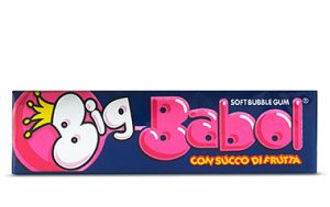 Big babol chewing gum juicy   88 gr