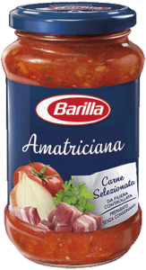 Barilla sugo all'amatriciana   400 gr