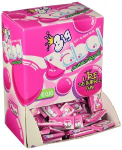 Big babol chewing gum panna fragola   200 pz