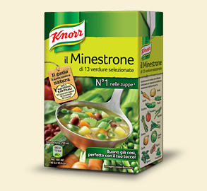 Knorr minestrone tradizionale     500 ml