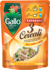 Gallo expresso 3 cereali   250 gr