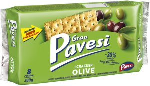 Pavesi cracker olive new 280 gr