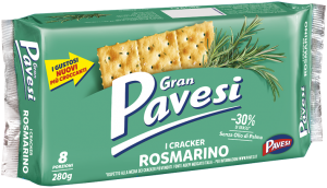 Pavesi cracker rosmarino new 280 gr