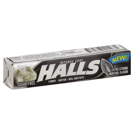 Halls caramelle extra strong sugar free 32 gr