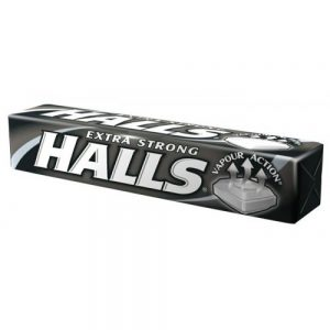 Halls caramelle extra strong   33 gr