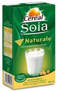 Cereal soia naturale   500 ml