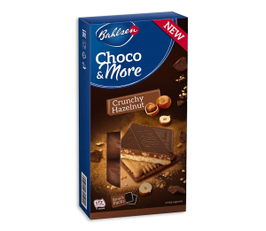 Bahlsen choco&more 120 gr