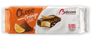 Balconi choco orange   x10 350 gr