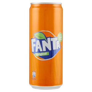 Fanta aranciata   lattina 330 ml