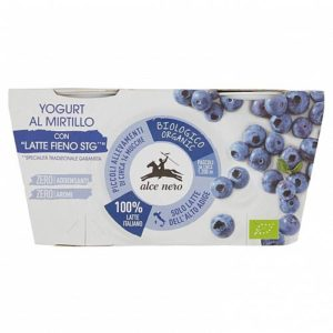 Alcenero yogurt intero mirtilli bio