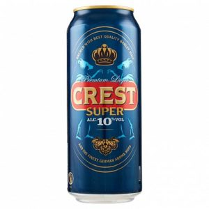 Crest birra super   500 ml