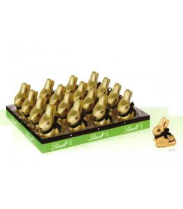 Lindt gold bunny fondente expo 128 pz