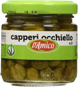 D'amico capperi in aceto   100 gr