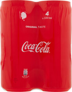 Coca regular latt.33x4 330 ml