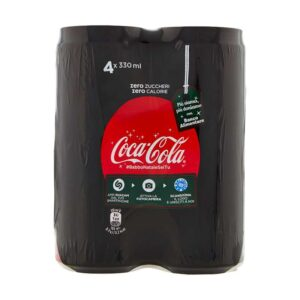 Coca cola zer lat 33x4 330 ml