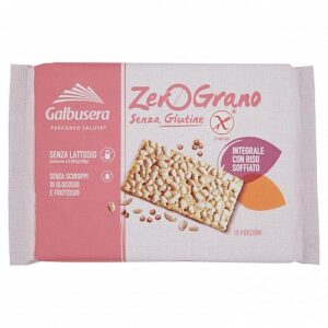 Galbusera zerograno crackers integrali 360 gr