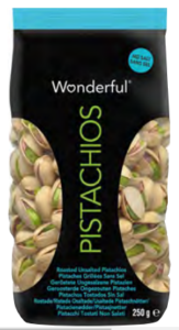 Wonderful pistacchi senza sale   250 gr