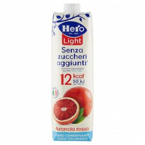 Hero light arancia rossa  1 lt